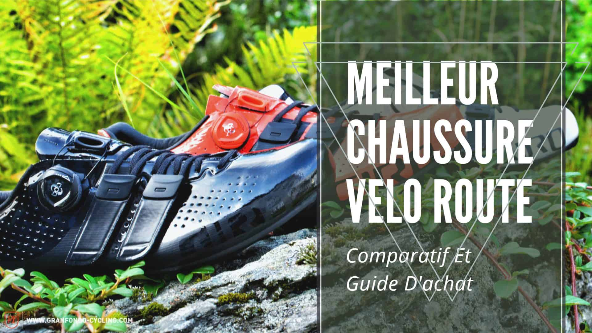 meilleur chaussure velo route