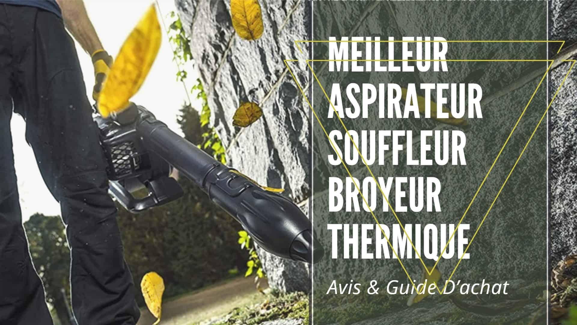 Meilleur Aspirateur Souffleur Broyeur Thermique