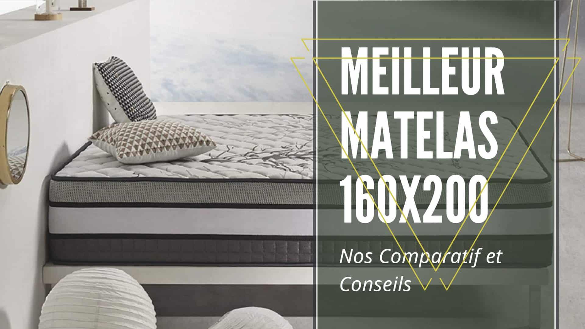 meilleur matelas 160x200