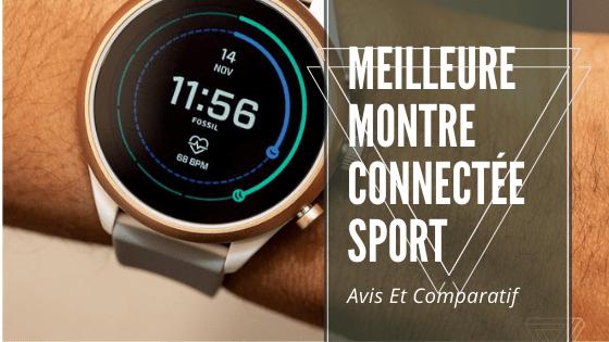 meilleure montre connectée sport