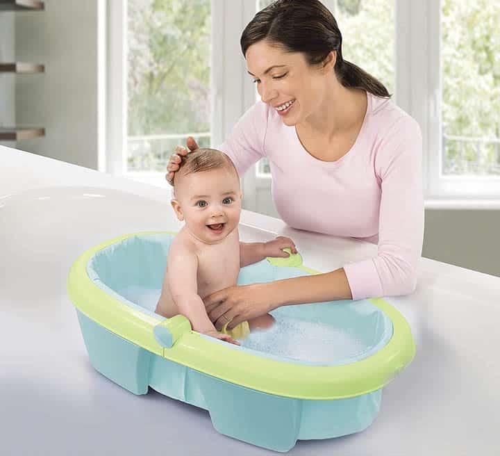 meilleure baignoire bébé sur pied