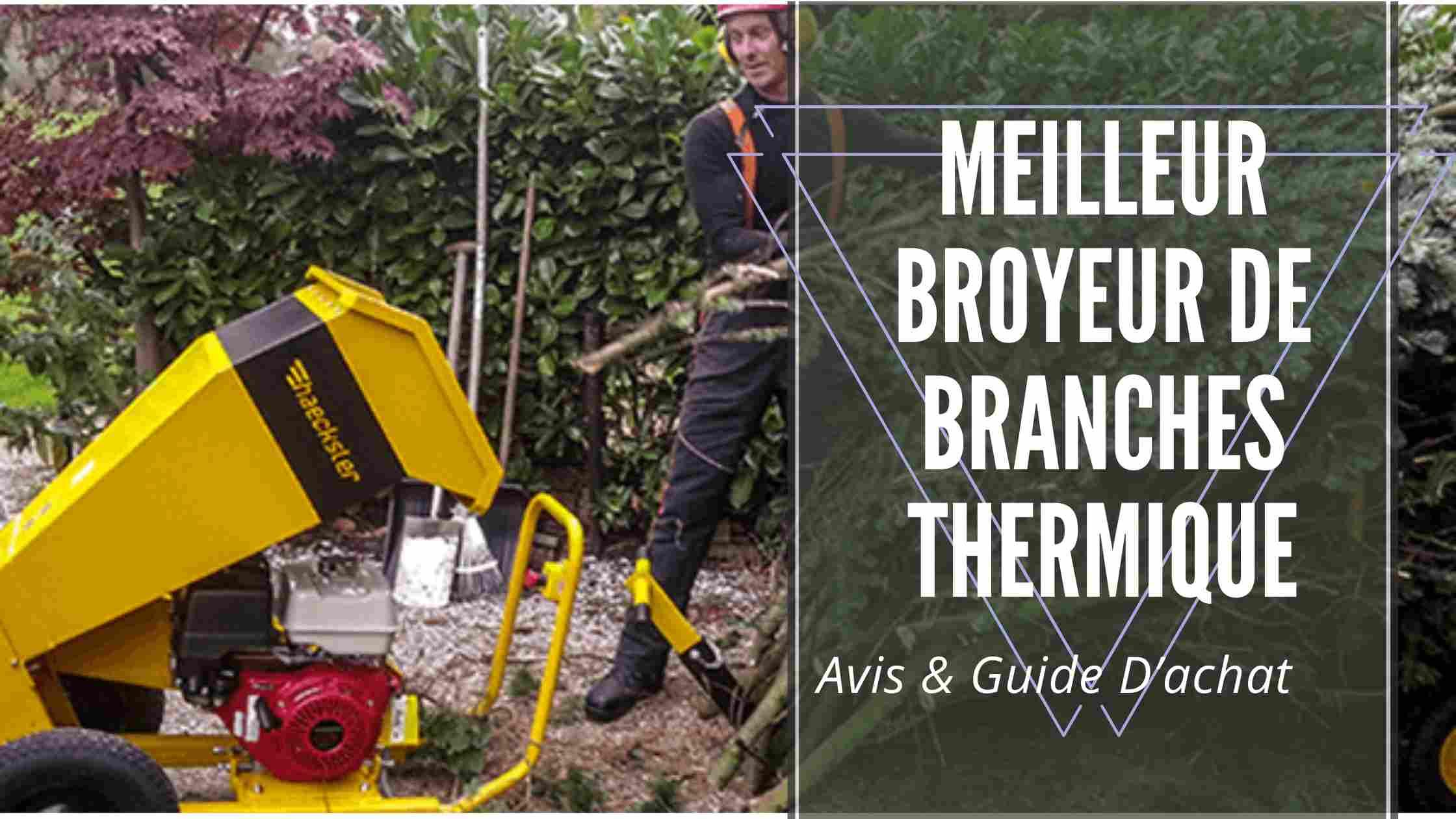 Meilleur Broyeur De Branches Thermique