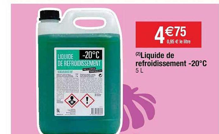 liquide de refroidissement auchan